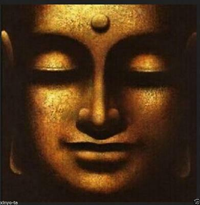 CHOP05 100% hand-painted abstract wall decor art oil painting buddha on canvas