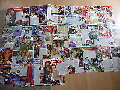 Andrea Berg -     SAMMLUNG (clippings) - 28 x Berichte  + 1 X Cover