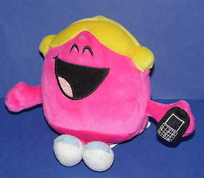 LITTLE MISS CHATTERBOX * Soft toy / Beanie * 14cm Tall * Fisher Price *