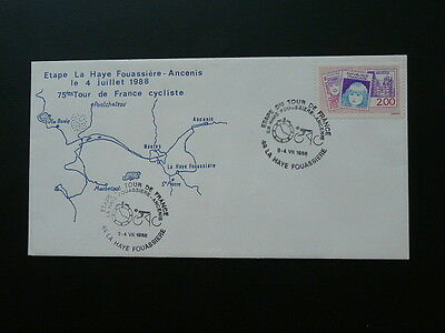 bicycle cycling Tour de France 1988 cover