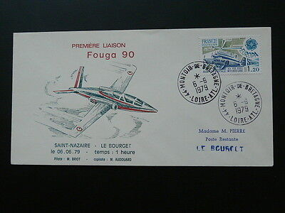 aviation first flight of Fouga aircraft cover 1979