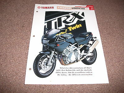YAMAHA TRX850 the complete file from essential superbikes
