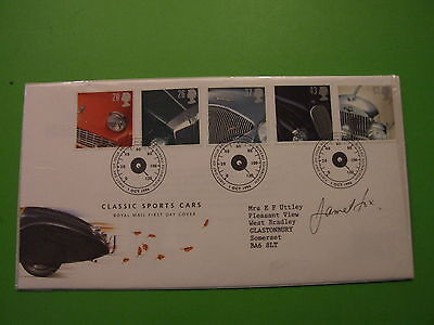1996 Classic Cars Fdc Cover Signed James Fox  ..see Post Offer