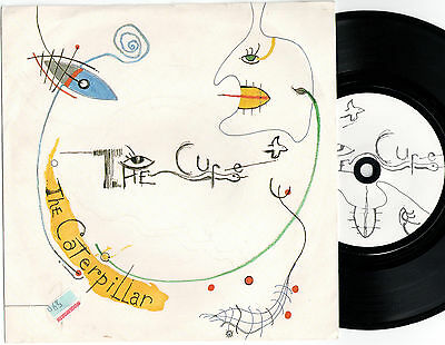 """The Cure The Caterpillar (16768) 7"""" Single 1984 Fiction Records FICS 20"""
