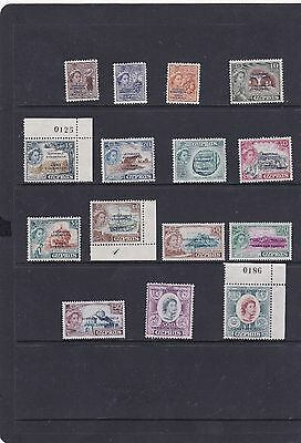 Cyprus 1960 Definitive-Pictorial Overprinted Set Sg.,188-202 Unmounted Mint-Mnh