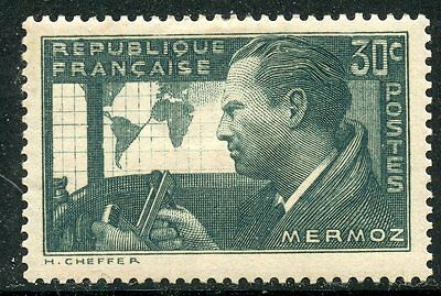 Stamp /  Timbre De France Neuf  N° 337 **  Mermoz /
