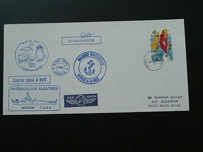 polar expedition cover posted at sea M/S Albatros Seychelles 64196