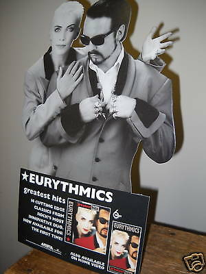 EURYTHMICS 1991 Rare Easel Backed PROMO DISPLAY perf.co
