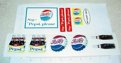 Nylint Cab Over Ford Pepsi Truck Stickers        NY-031