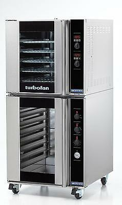 Moffat E32D5/P8M Electric 5 Pan Convection Oven with 8 Pan Proofing Cabinet