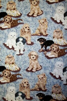 Puppy Love-- Padded Cover For 18X49 Ironing Board