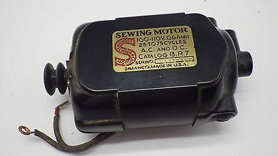 Vintage Original SINGER  Sewing Machine Motor B.R.7 Tested