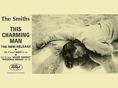 """The Smiths THIS CHARMING MAN 16"""" x 12"""" Photo Repro Promo  Poster"""