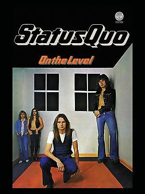 "Status Quo On the Level 16"" x 12"" Photo Repro Promo Poster"