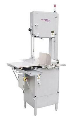 "German Knife GBS-450S 126"" Stainless Meat Band Saw Floor Model 3 HP"