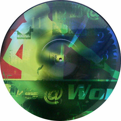 DJs @ Work Past Was Yesterday PICTURE DISC Vinyl Single 12inch NEAR MINT