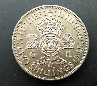 1945 FLORIN (George VI two shillings coin)