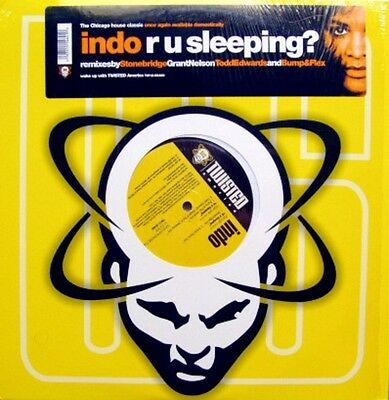 Indo R U Sleeping? Vinyl Single 12inch NEAR MINT Twisted America Records