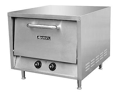 Adcraft PO-18 Stackable Countertop Pizza Oven W/ 2 -18in Stone Decks