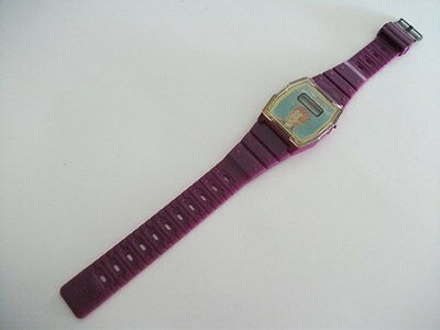 Vintage Real Ghostbusters Flicky Flasher Wristwatch Watch Mail Premium 1988