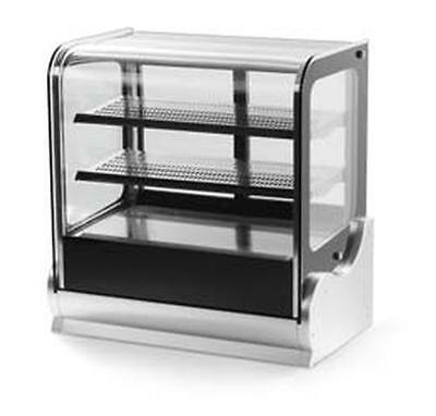 """Vollrath 40891 48"""" Cubed Glass Heated Display Case w/ Front & Rear Access"""