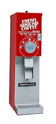 GMCW 875S/RED 3 lb. Hopper Automatic Gourmet Grocery Coffee Grinder - RED