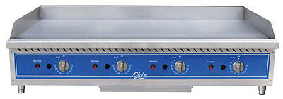 """Globe 48"""" Natural Gas Griddle Thermostatic Controls Counter Top - GG48TG"""