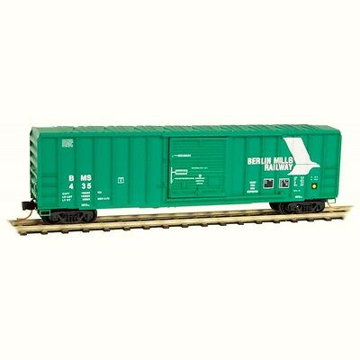 Berlin Mills Railway 50' Rib side Boxcar Micro-Trains MTL #025 00 930 N-Scale