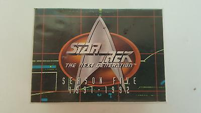 Star Trek TNG The Next Generation Season 5 Collector cards base set of 108 cards