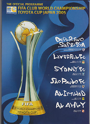 2005 World Club Champs.Tournament Programme.LIVERPOOL