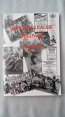 Book - National League Speedway 1978 - 1987 George Wallett Leagues Riders Cups