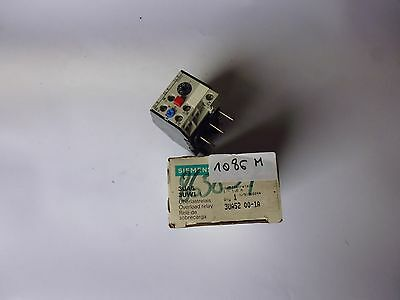 3UA52 00-1A siemens relai thermique thermal overload relay 1-1.6A
