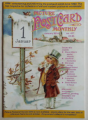 PICTURE POSTCARD MONTHLY Magazine #417 - January 2014