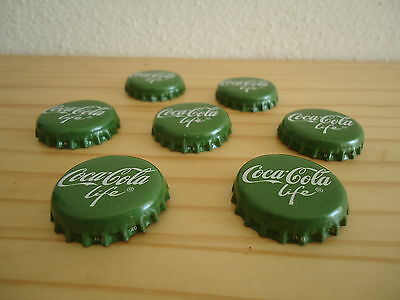 *Coca-Cola LIFE with Stevia 20x Germany 2015 New Bottle Caps Danger opend Top*