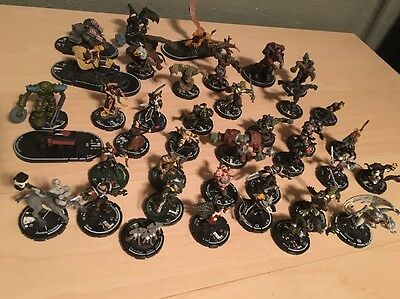 Vintage Lot of 39 Miniatures Wizkids Mage Knight Figurines Figures