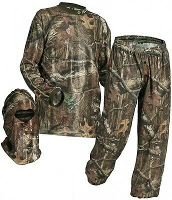 NEW 2017 Hecs Suit Realtree XTRA & MO Country W/Facemask Complete Suit w/ DVD