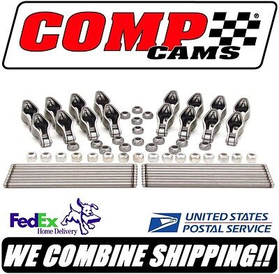 Comp Cams 1.52 Magnum Rocker Arm & Pushrod Kit for Hyd Roller SBC Chevy #RPR200