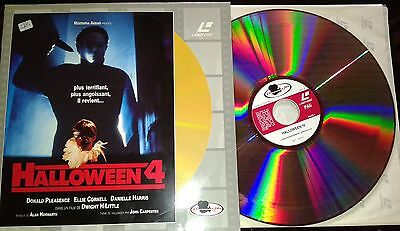 Tres Rare Laserdisc Ld Video Halloween 4