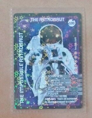Dr Doctor Who MONSTER INVASION - Ultra Rare Card Number 100 The Astronaut - NEW