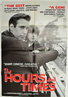 THE HOURS AND TIMES (1992) Cinema 1-Sheet Poster - Christopher Munch David Angus