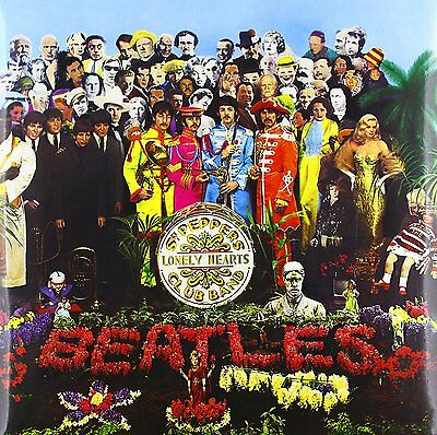 THE BEATLES Sgt Peppers Lonely Hearts Club Band LP Vinyl NEW 2012 Remastered