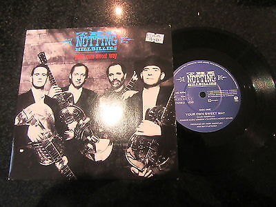 "The Notting Hillbillies ""your Own Sweet Way"" Uk 7"" Knopfler Dire Straits"