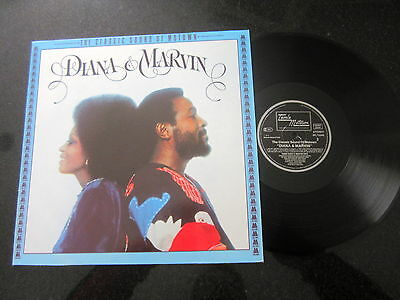 "Diana Ross / Marvin Gaye ""diana & Marvin"" West Germany Motown Reissue Lp"