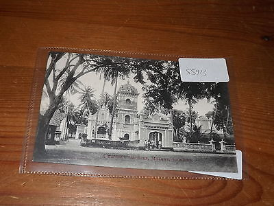Old CEYLON  postcard our ref #55913 MOSQUE COLOMBO CINNAMON GARDENS