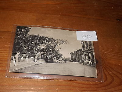 Old CEYLON  postcard our ref #55930 QUEEN STREET COLOMBO