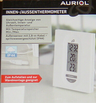 innen und au enthermometer mit kabelsensor neu eur 5 50 picclick de. Black Bedroom Furniture Sets. Home Design Ideas