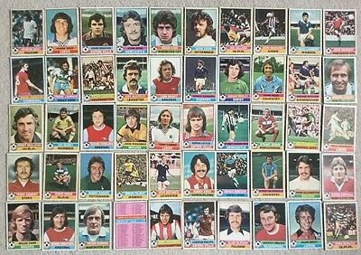 TOPPS RED BACKED Football Cards COMPLETE FULL SET of 330 cards from 1977