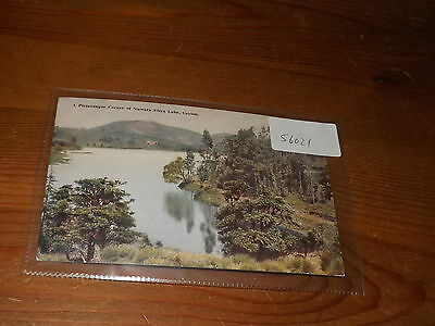 Old CEYLON PLATE ART  postcard our ref #56021 CORNER OF NUWARA ELIYA LAKE
