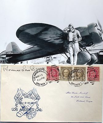 Pancho Barnes Aviation Pioneer Record Holder Member 99's Autograph ''Rare''