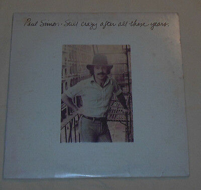 Vtg 1975 Paul Simon Vinyl Record Still Crazy After All These Years Titled Album